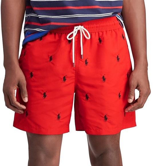 80d544d5df Polo by Ralph Lauren Shorts | Ralph Lauren Polo All Over Print Swim ...